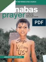 Prayer Diary January -February 2014