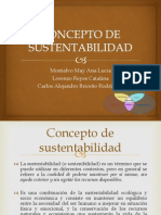 Concepto de Sustentabilidad