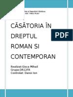 Casatoria in Dreptul Roman