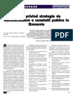 9_Politici Privind Strategia de Descentralizare a Sanatatii Publice in Romania