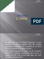 Skorydov Crème Presentation