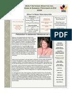 BUILT Network Newsletter Spring-Summer 2009