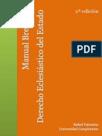Manual breve de Derecho eclesiástico del Estado (2ª edición)