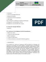 Roteiro de Estudos (Clonagem e DNA Recombinante)[1]