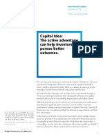 American Funds - Investment Insight - September 2013 - Active vs Passive investing.