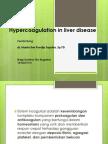 Hypercoagulation in Liver Disease 1
