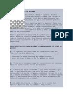 PRINCIPIOS BÁSICOS DE AJEDREZ