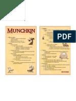 Munchkin - Aide de Jeu