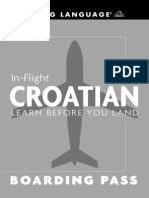 Flight Croatian Learn Before You Land