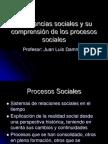 Las CCSS y Su Comprension de Los Procesos Sociales 2011 1