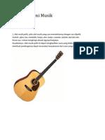 Apresiasi Seni Musik