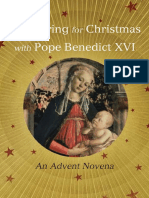 Preparing for Christmas with Pope Benedict XVI (excerpt)