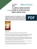 Mario Vargas Llosa en Ibero de Larcomar