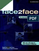 F2F Preintermediate Teacher's Book