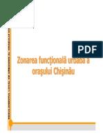 Zonarea orasului Chisinau