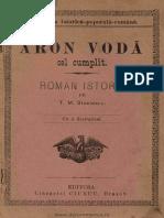 Aron Vodă cel Cumplit - Roman istoric