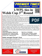 Welsh Premier League Newsletter Issue 24