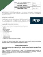 Inla05 Normas de Bioseguridad Laboratorio