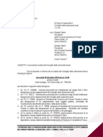 Consiglio delle Autonomie locali trentine, 18 dicembre 2013