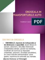Oboseala in Transporturile AutoMadalina StancuAn3ID