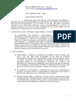 09 - Processo Administrativo Disciplinar - PAD I