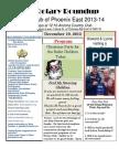 Bulletin 12.19.2013