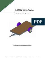 6x12 35utrailer Instructions