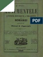 Monumentele antice, istorice şi tradiții ale României