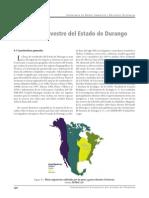 Fauna Silvestre Del Estado de Durango