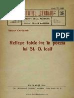 Reflexe folclorice în poezia lui St. O. Iosif