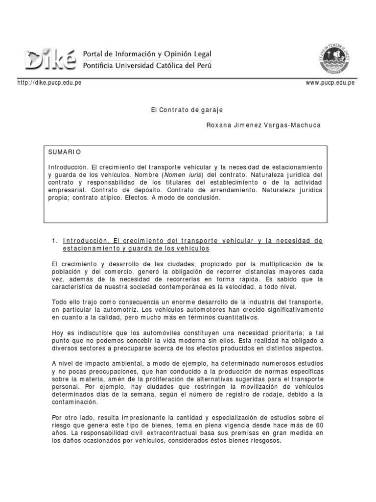 Contrato De Deposito Comercial Modelo   BLSE