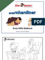 Bernhardiner - Erste Hilfe Malbuch