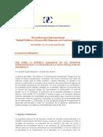 Más sobre la retórica alrededor de los objetivos internacionales y la realidad de la ayuda oficial para el desarrollo