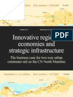 Innovative regional economies and strategic infrastructure