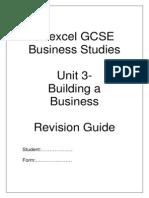 Student Revision Guide - Unit 3 Building a Business_2