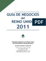 Guia Negocios ReinoUnido 2011