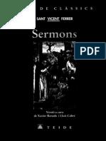 Sermons de Vicent Ferrer-TEIDE