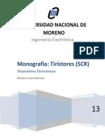 monografia tiristores