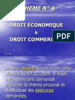 Droit Economique Droit Commercial