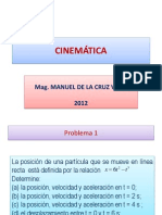 CINEMÁTICA.SEMINARIO