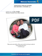 Informe Misionero Laureles Diciembre
