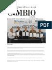 12-12-2013 Diario Matutino Cmabio de Puebla - Destaca RMV cifras de Puebla en aportación al PIB nacional