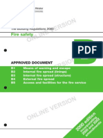 Building Regulations 2000-Fire Safety