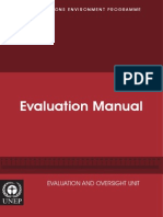 Evaluation Manual 2008