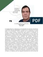 La independencia y soberanía   Felipe Torrealba