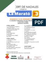 Programa Maratotv3 2013