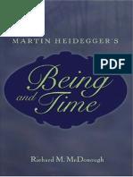 Being and Time - Martin Heidegger