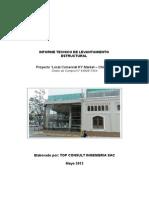 Informe Levantamiento Estructural KY Market