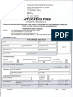 Vigilant Security Application Form April 2011