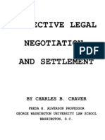 Effective Legal Negotiations